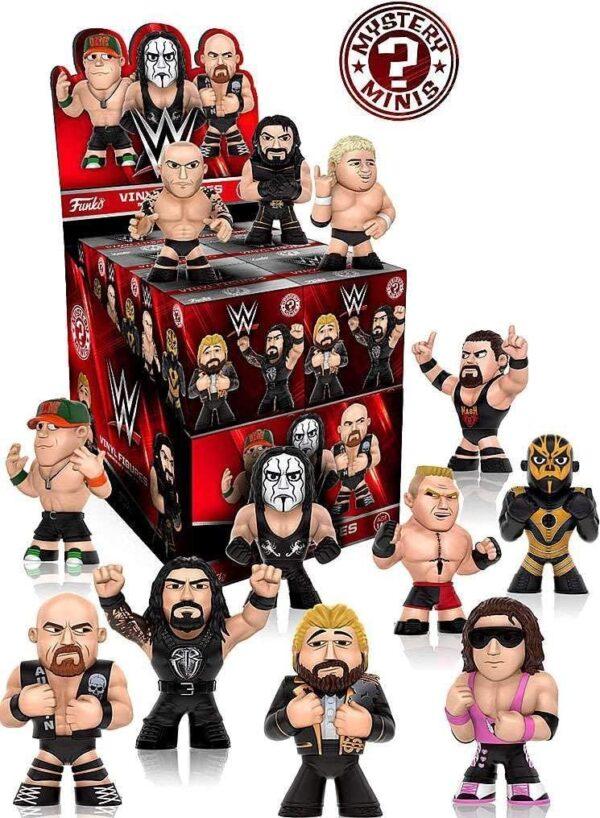 WWE Mystery Minis Set of 12