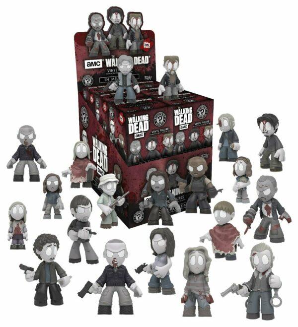 Walking Dead Mystery Minis-Set of 12